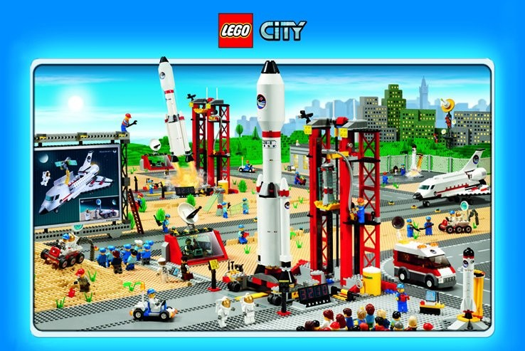 LEGO - city (space) Poster | Sold at Abposters com