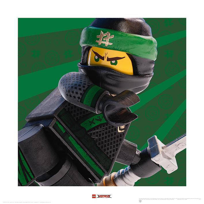 Lego Ninjago Film - Lloyd Crop Art Print | Buy at Abposters.com