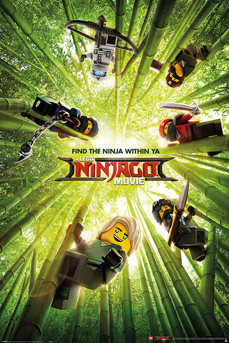 lego ninjago movie bamboo poster sold at abposters com