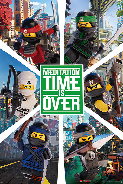 Lego Ninjago Movie - Six Ninjas Poster