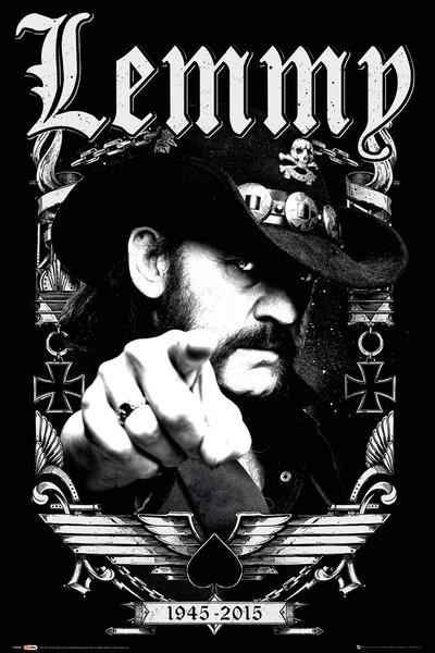 Lemmy - Dates Poster