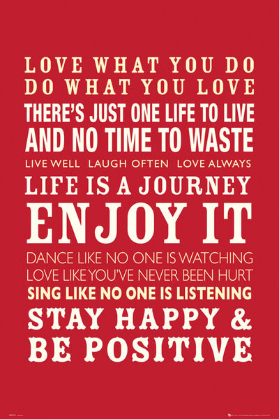Life Quotes Poster Sold At Abposters Stunning Life Quotes Posters