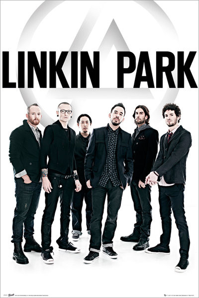 Poster quadro linkin park group em europosters poster linkin park group stopboris