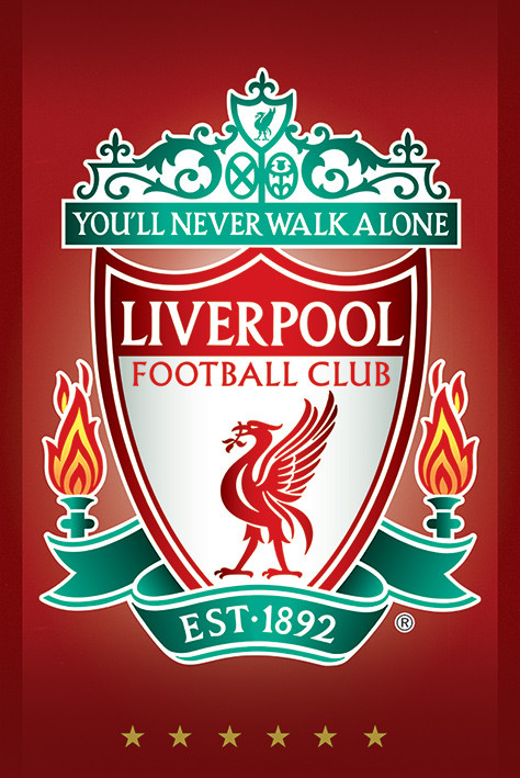 Liverpool FC - Crest Poster