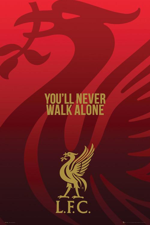 Liverpool - Liverbird Poster