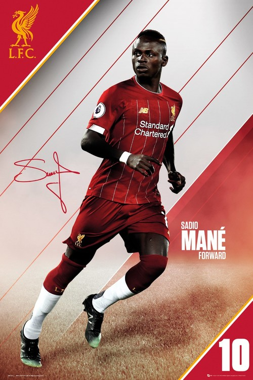 Liverpool - Mane 19-20 Poster