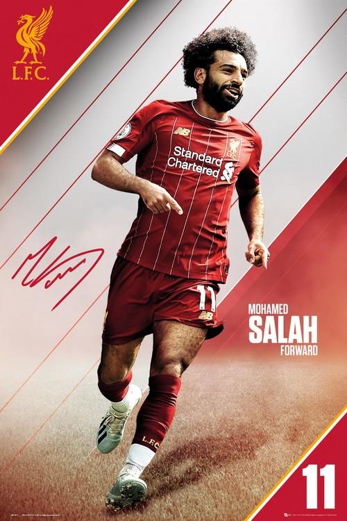 Poster Liverpool - Salah 19-20