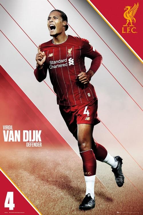 Liverpool - Van Dijk 19-20 Poster