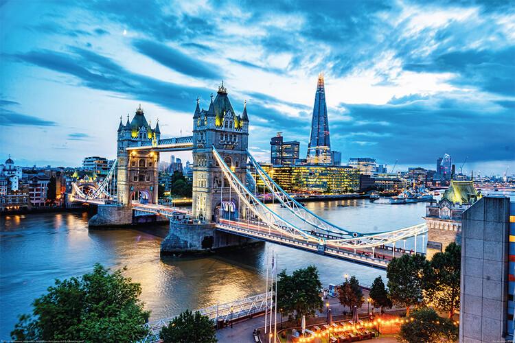 Poster London - Tower Bridge