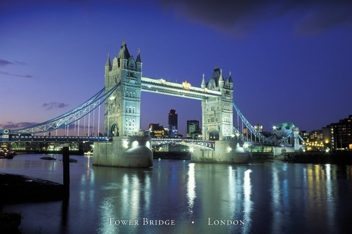 London - tower bridge II. Poster | Sold at Europosters