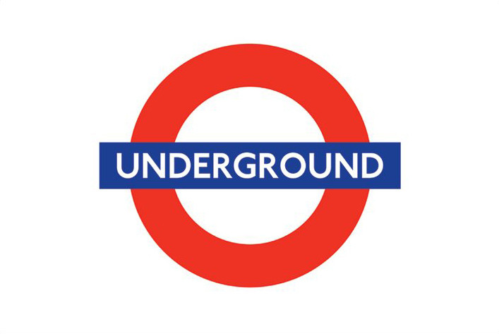 London underground - logo Poster, Art Print
