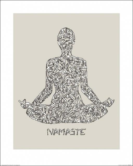 Louise Tate - Namaste Art Print