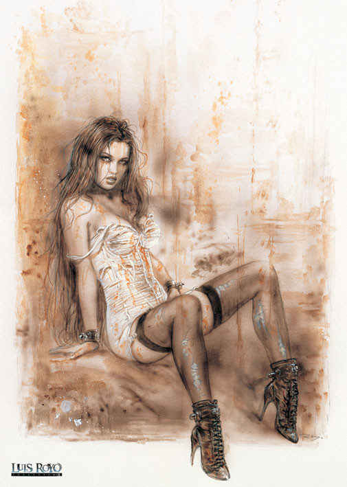 Luis Royo Alone Poster Sold At Ukposters
