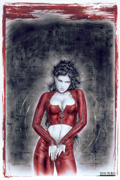 Luis Royo - prohibited 3 Poster, Art Print
