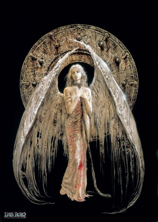 Luis Royo - white angel Poster