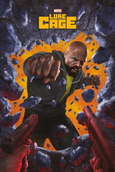 Luke Cage - Wall Break Poster