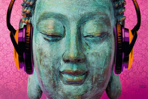 M. Tarin - buddha music chill Poster