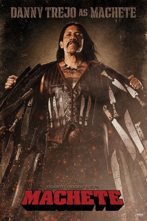 MACHETE - knives Poster