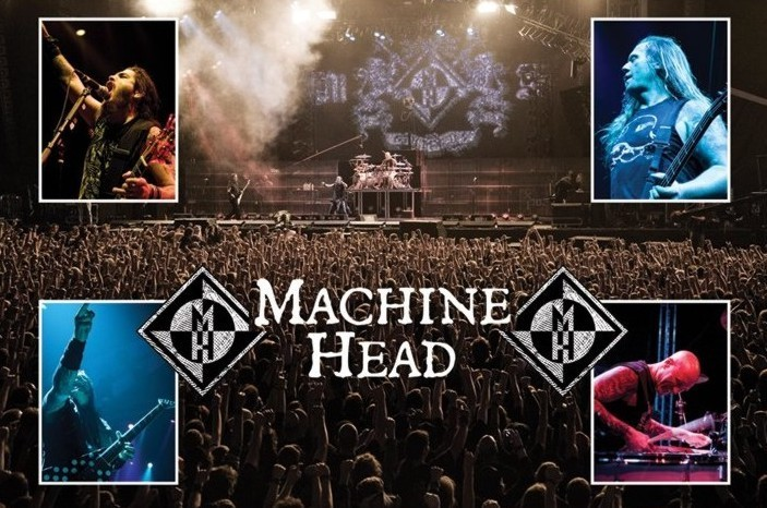 Machine Head - live Poster