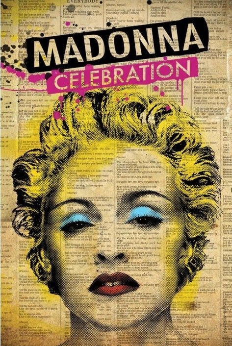 Pôster Madonna - celebration