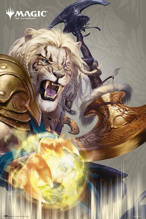 Poster Magic The Gathering - Ajani