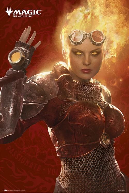 Poster Magic The Gathering - Chandra