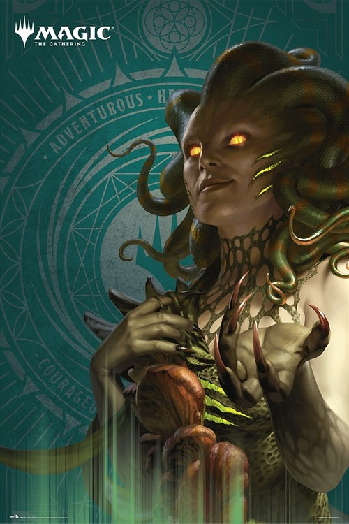 Magic The Gathering - Vraska Poster