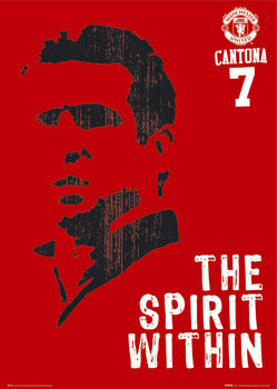 Pôster Manchester United - Cantona spirit