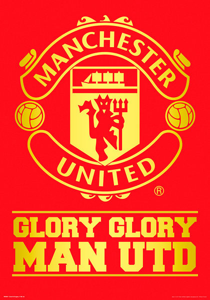 Manchester United Fc Crest Poster Sold At Abposters Com
