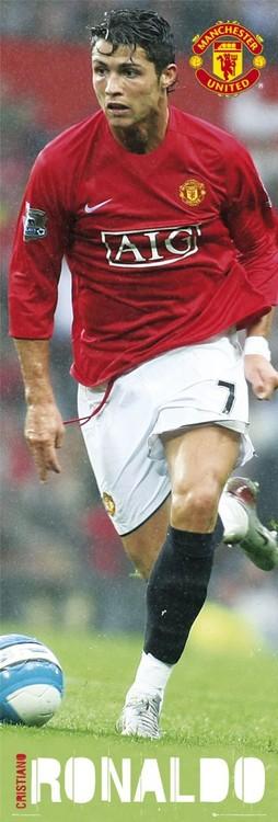 Manchester United - Ronaldo 07/08 Poster, Art Print