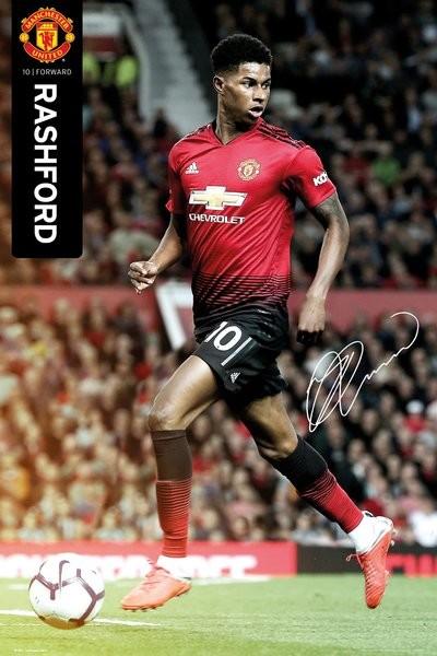 Manchester United - Rushford 18-19 Poster