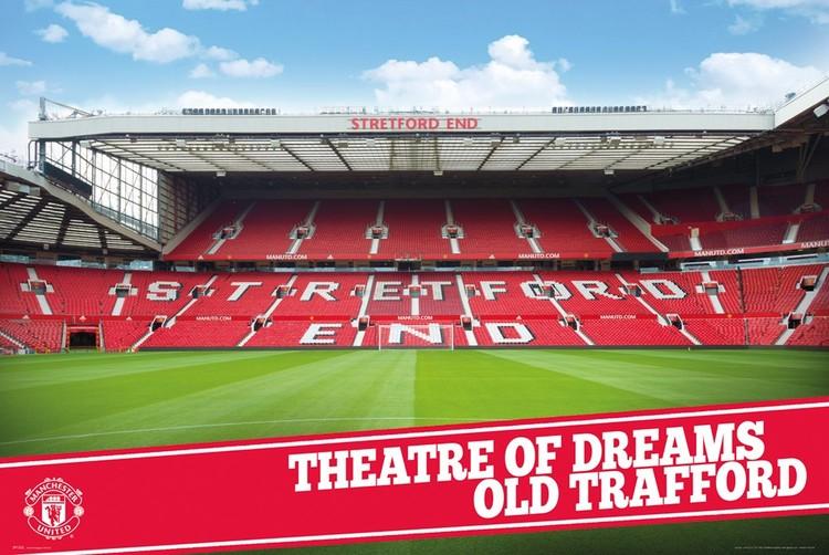 Manchester United – Stadium 15-16 Poster