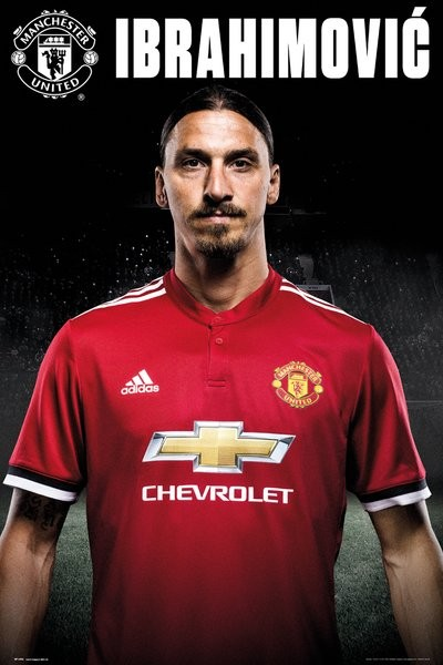 Manchester United - Zlatan Stand 17-18 Poster