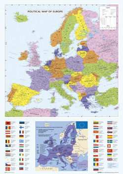 Map Of Europe Poster Sold At Abposters Com