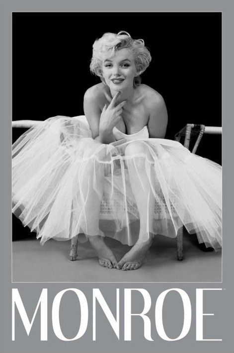 Marilyn Monroe - ballerina Poster