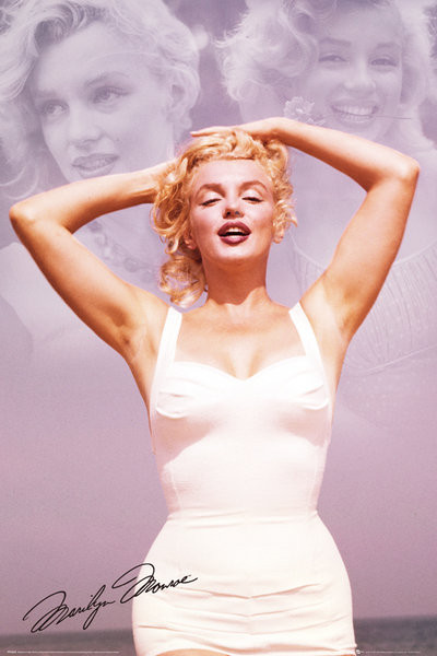 Marilyn Monroe - Collage Poster, Art Print