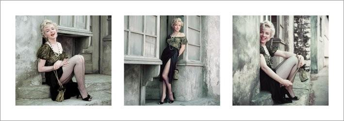Marilyn Monroe - The Parisian Series Art Print