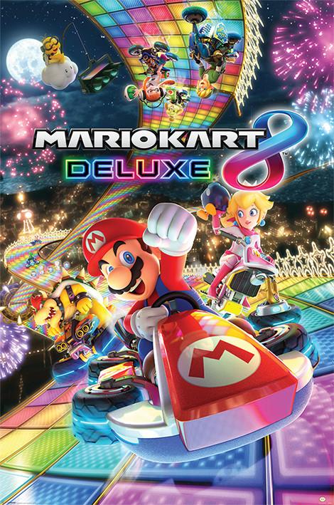 Mario Kart 8 - Deluxe Poster
