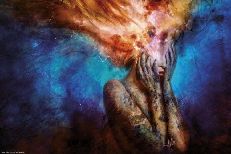 Poster Mario Sanchez  Nevado - Psycho Climatic