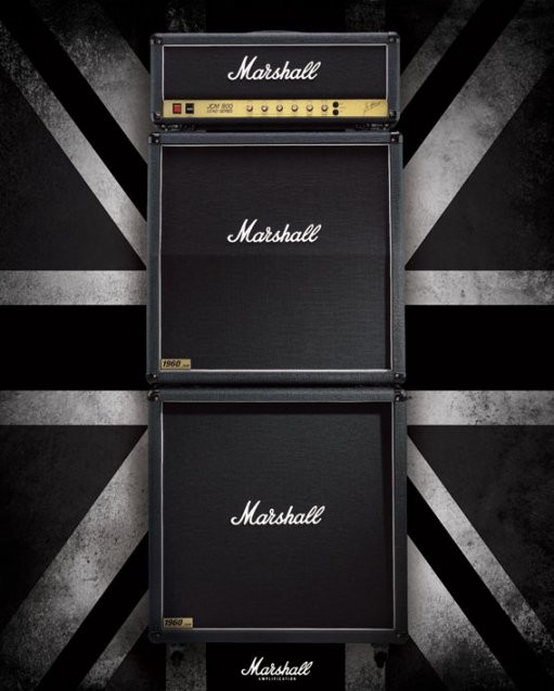 Marshall - stack Poster