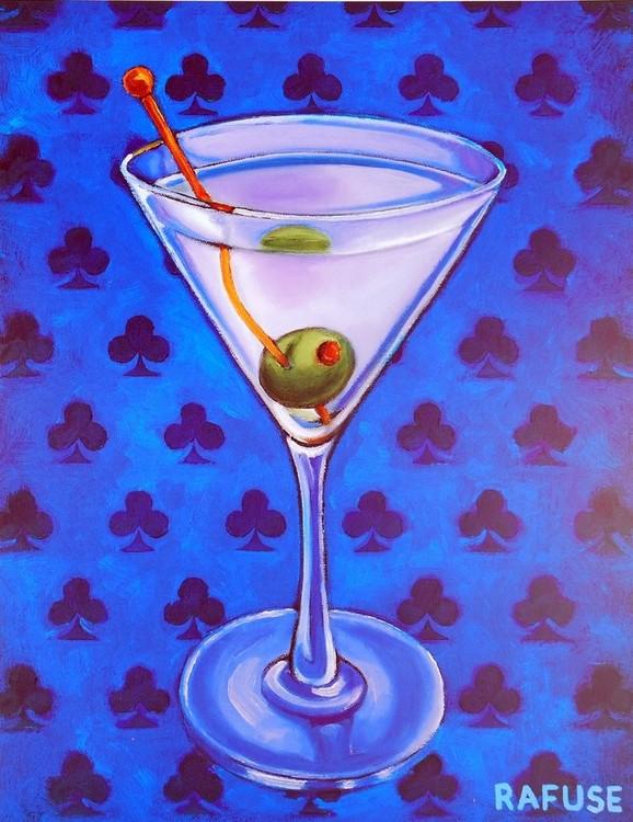 Martini Royale - Clubs Art Print