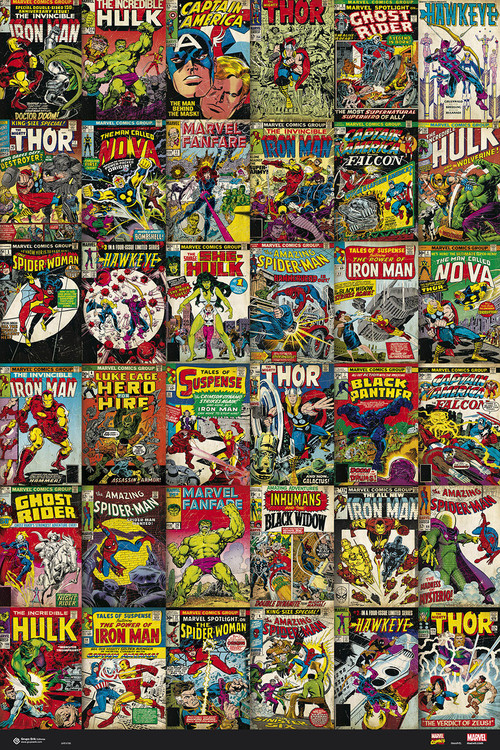 Poster Marvel - Classic Cover