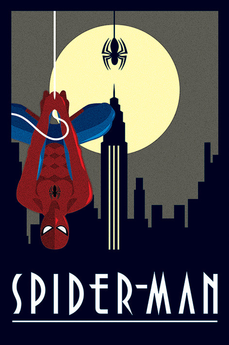 Marvel Deco - Spider-Man Hanging Poster