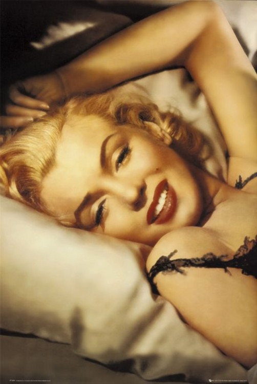 MARYLIN MONROE - pillow Poster
