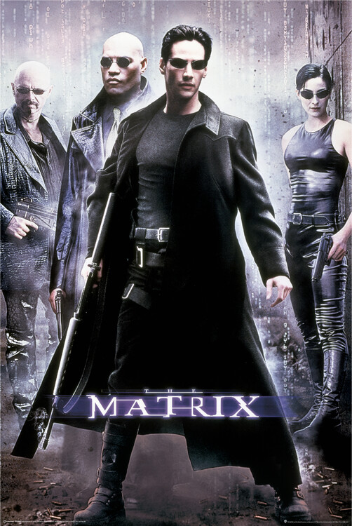 Poster Matrix - Hackers