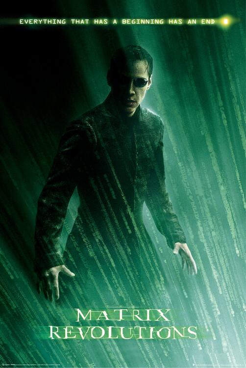 Poster Matrix Revolutions - Neo