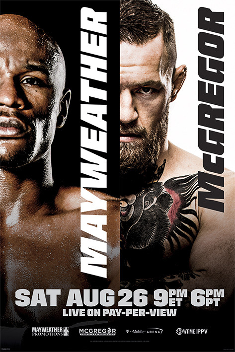 Poster Mayweather vs McGregor: Fight Poster