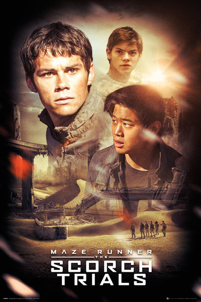 Poster Maze Runner 2 - Collage
