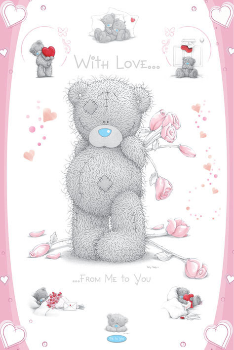 Me to you – with love Poster, Art Print