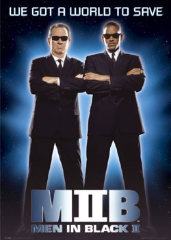 MEN IN BLACK  II - save Poster, Art Print